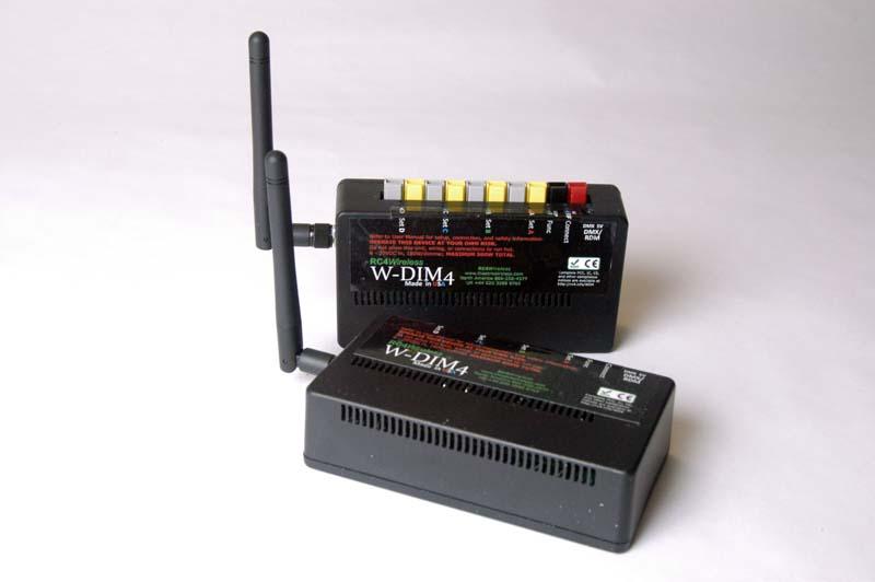 w dim4 4 channel wireless dimmer rc4 wirelessw dim4 4 channel wireless dimmer