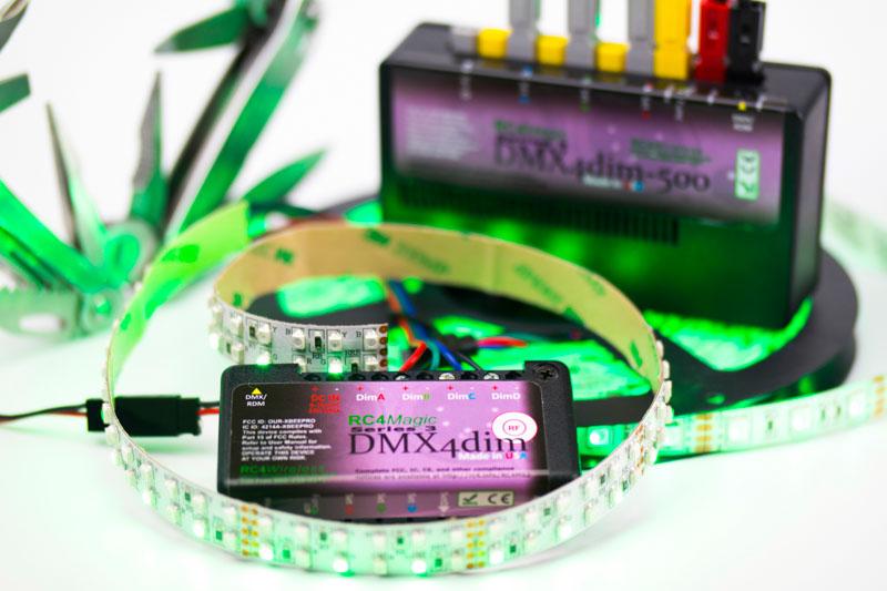 Harmonized Design for RC4 Magic, LumenRadio and W-DMX