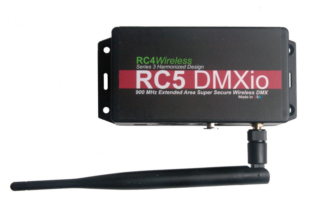 RC5 EASS by RC4 Wireless promises best-in-class wireless DMX range, performance, and data security