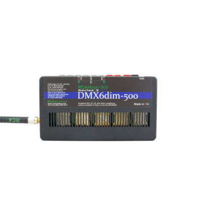 RC4M-900SX DMX6dim-500 High Power 6-Channel Dimmer