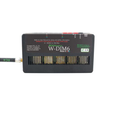 W-DIM6 Six-Channel Wireless Dimmer