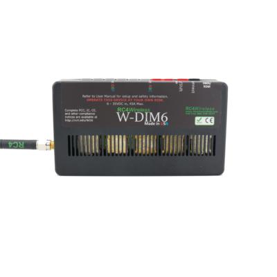 W-DIM6 Six-Channel Wireless Dimmer